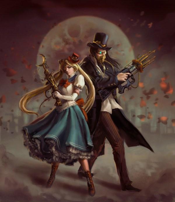 Steampunk Sailor Moon
