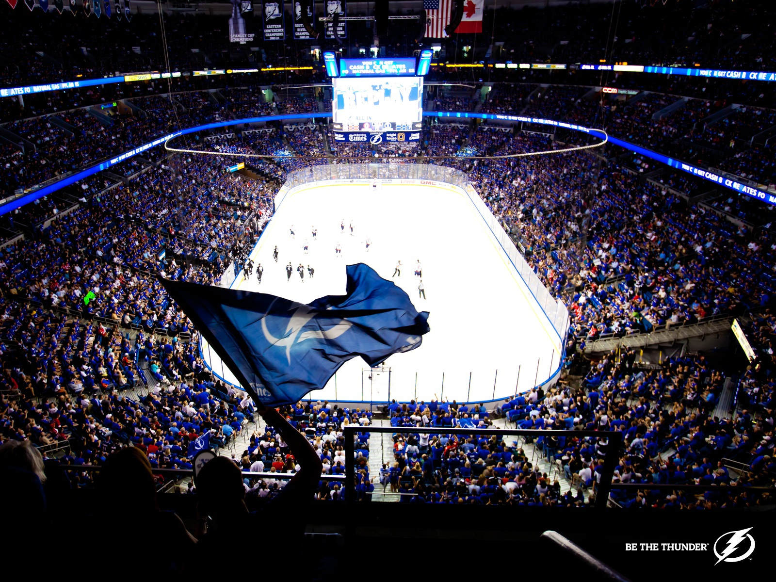 Vancouver Canucks Wallpaper Hd Tampa Bay Lightning Images Be The Thunder Hd Wallpaper And