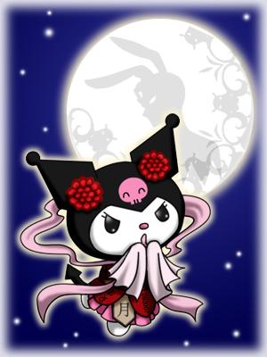 Cute Christmas Bunny Wallpaper Kuromi Kuromi Fan Art 30367842 Fanpop