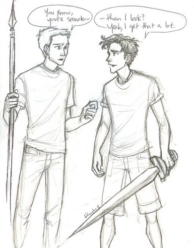 Percy Jackson images comic funny wallpaper and background