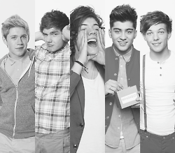 One Direction Images 1d Black And White Wallpaper Background