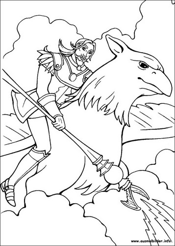 Barbie and the Magic of Pegasus images MoP coloring page
