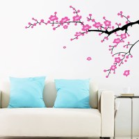 Plum Flower Branches Wall Sticker - Home Decorating Photo ...