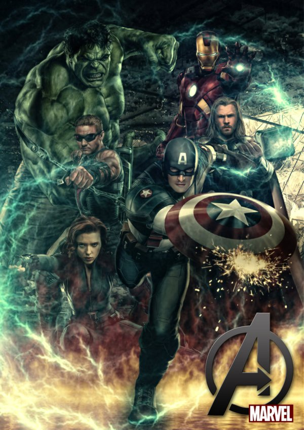 Avenger - Marvel Comics Fan Art 31055736 Fanpop