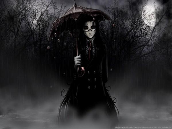Anime Dark Gothic Art