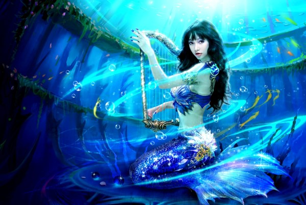 Fantasy Mermaid Hd Wallpaper And Background