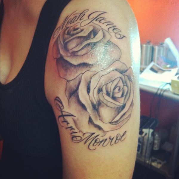 Jordan Ward Finder S 1st Arm Tattoo Jordan Ward Photo 31303711