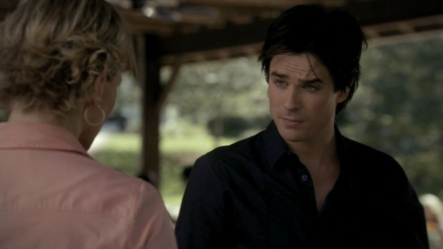 damon's hair in season ? - damon salvatore - fanpop