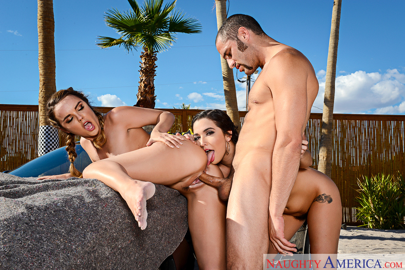 Naughty America, Dillion Harper , Karlee Grey , Damon Dice, American, Ball licking, BGG, Big Natural Tits, Big Tits, Blow Job, Brunette, Bubble Butt, Caucasian, Cum in Mouth, Deepthroating, Facial, Hairy bush, Natural Tits, Outie Pussy, Petite, Tattoos, Threesome, Threesome BGG, Trimmed, Young