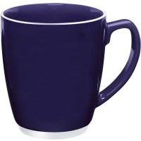 Large Color Bistro with Accent Mug (16 Oz.)   Custom ...