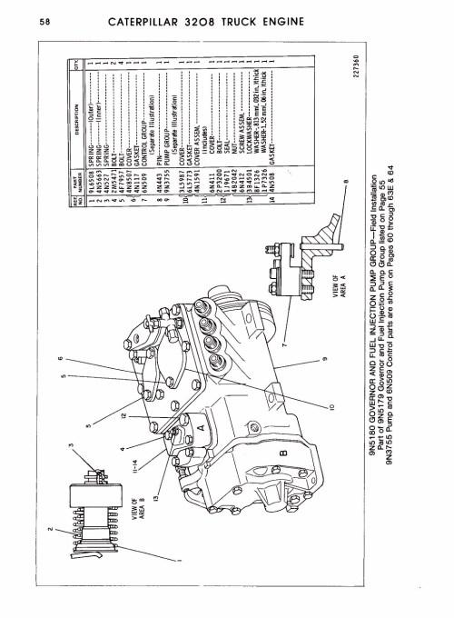 small resolution of caterpillar 3208 parts exploded diagram wiring diagram data cat 3126 engine diagram 3208 cat engine diagram