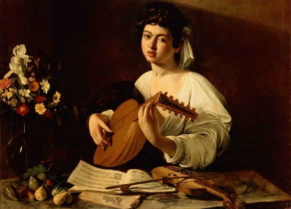 Lute Player Wallpaper And Background 1919x1379