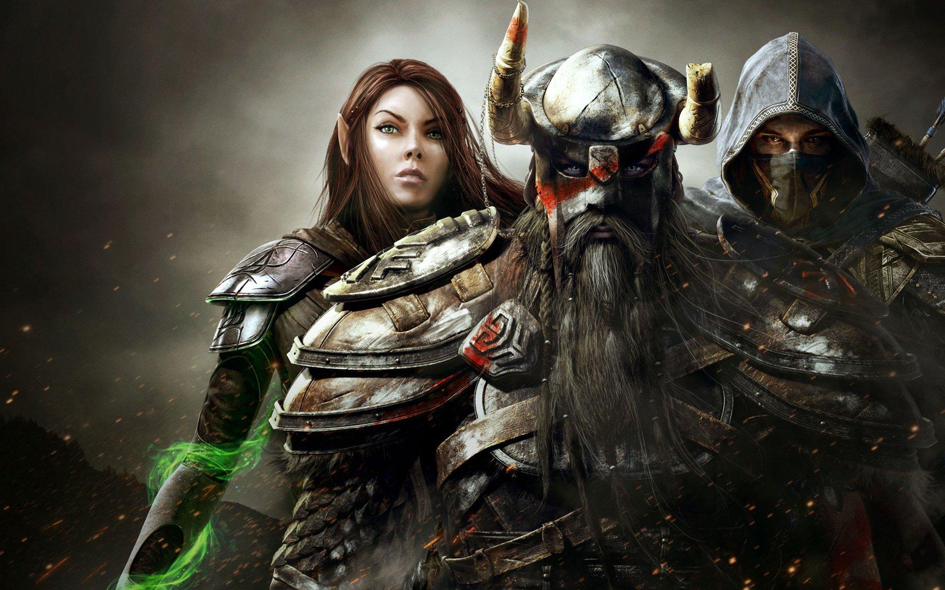 The Elder Scrolls Online Hd Wallpaper Background Image
