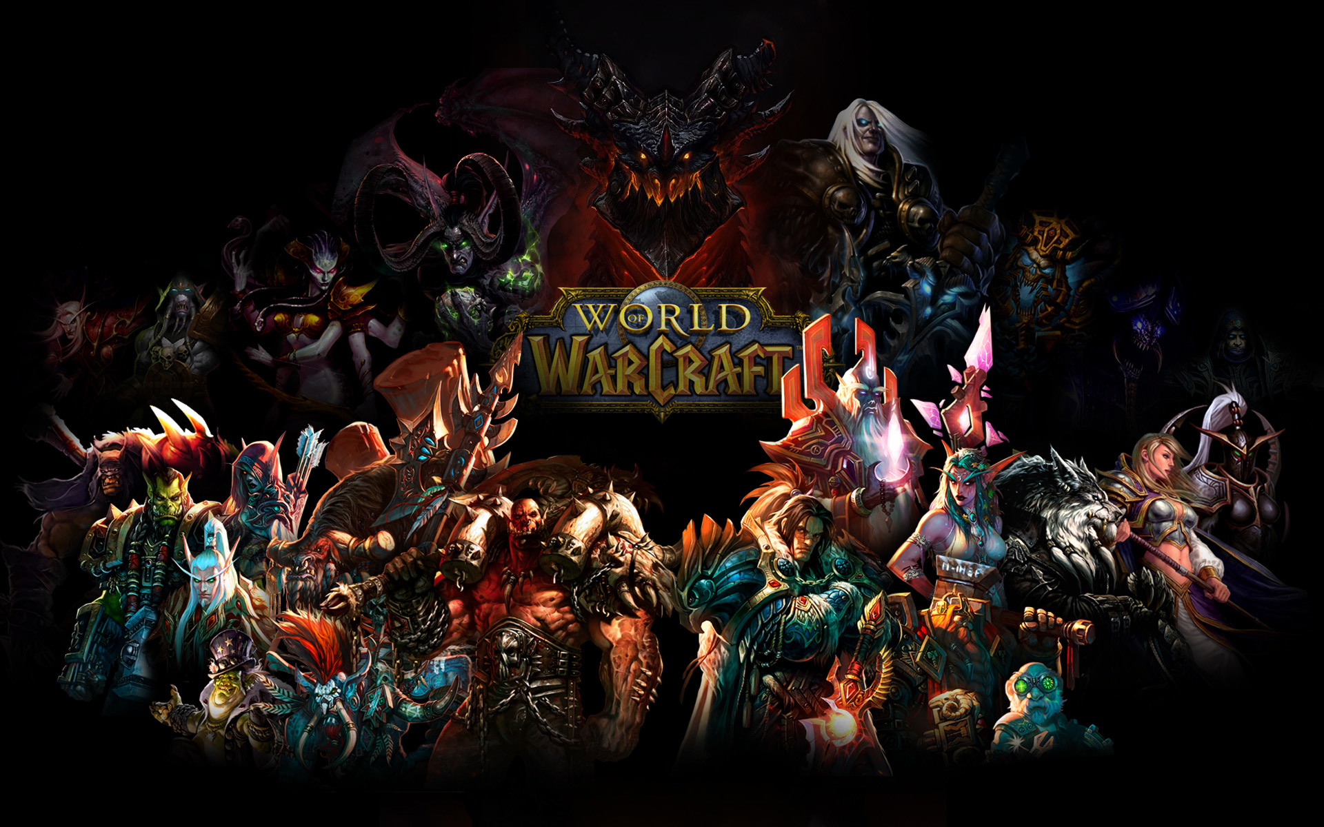 World Of Warcraft HD Wallpaper Background Image