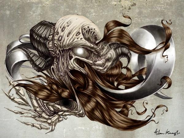 Satanic Psychedelic Art