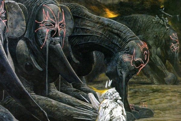 Baphomet Satanic Demon Art