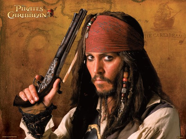 Johnny Depp Captain Jack Sparrow Wallpaper And Background 1600x1200 Id 310550