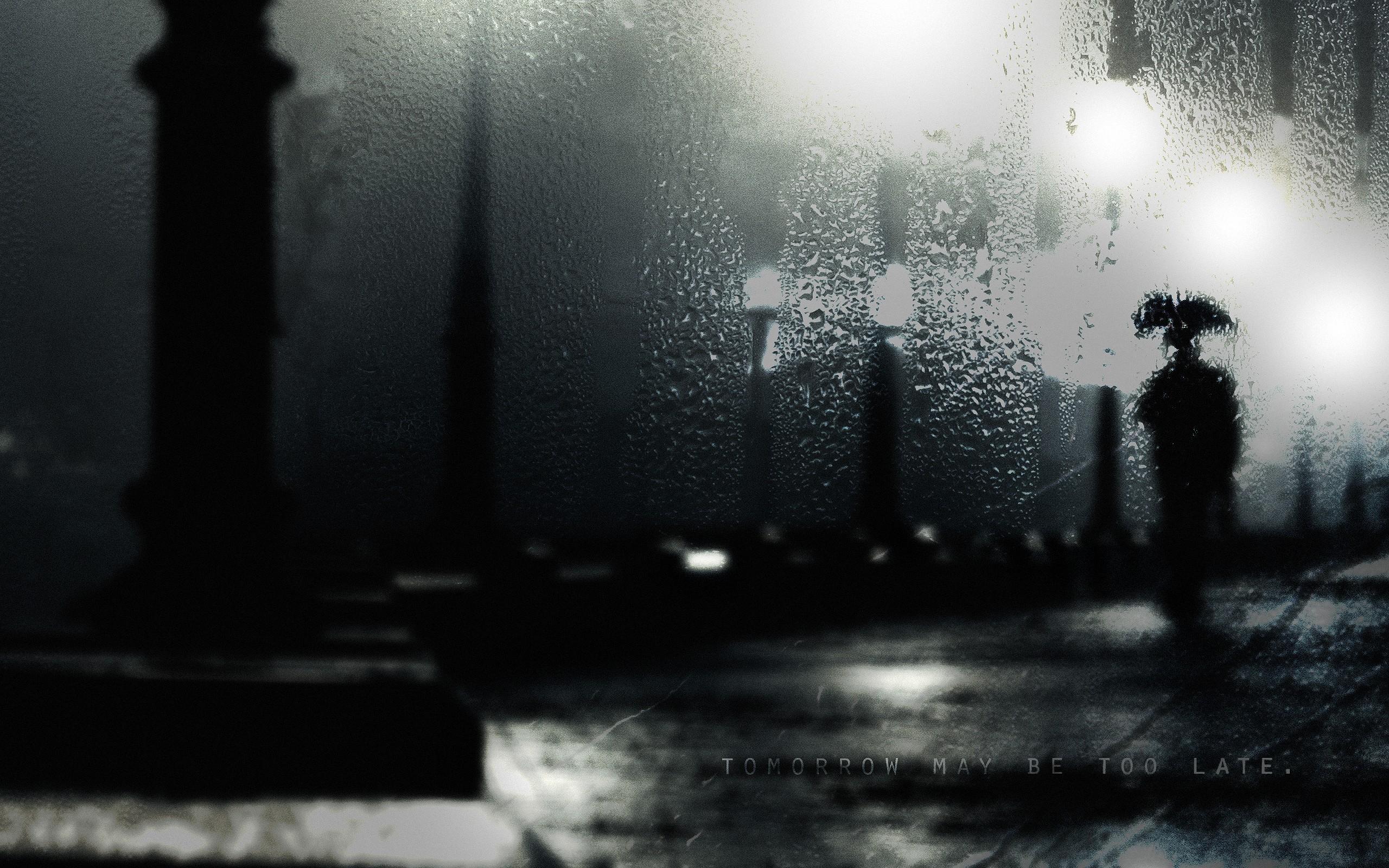 Sad Iphone Wallpaper Rain Full Hd Wallpaper And Background Image 2560x1600