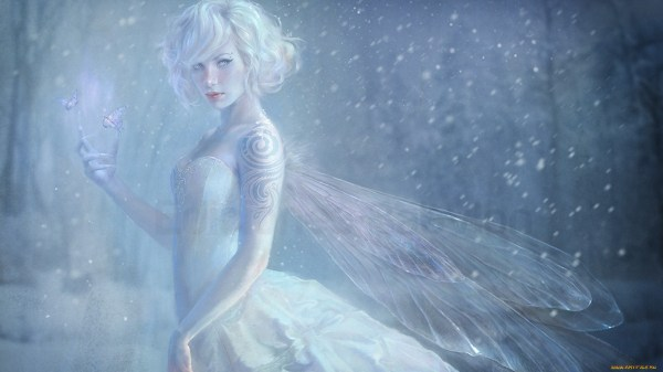 Snow Fairy Hd Wallpaper Background 1920x1080 Id 336344 - Abyss