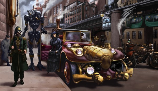 Steampunk Hd Wallpaper Background 3000x1727 Id