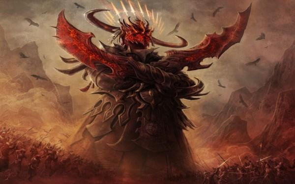 Magic The Gathering Demon Art