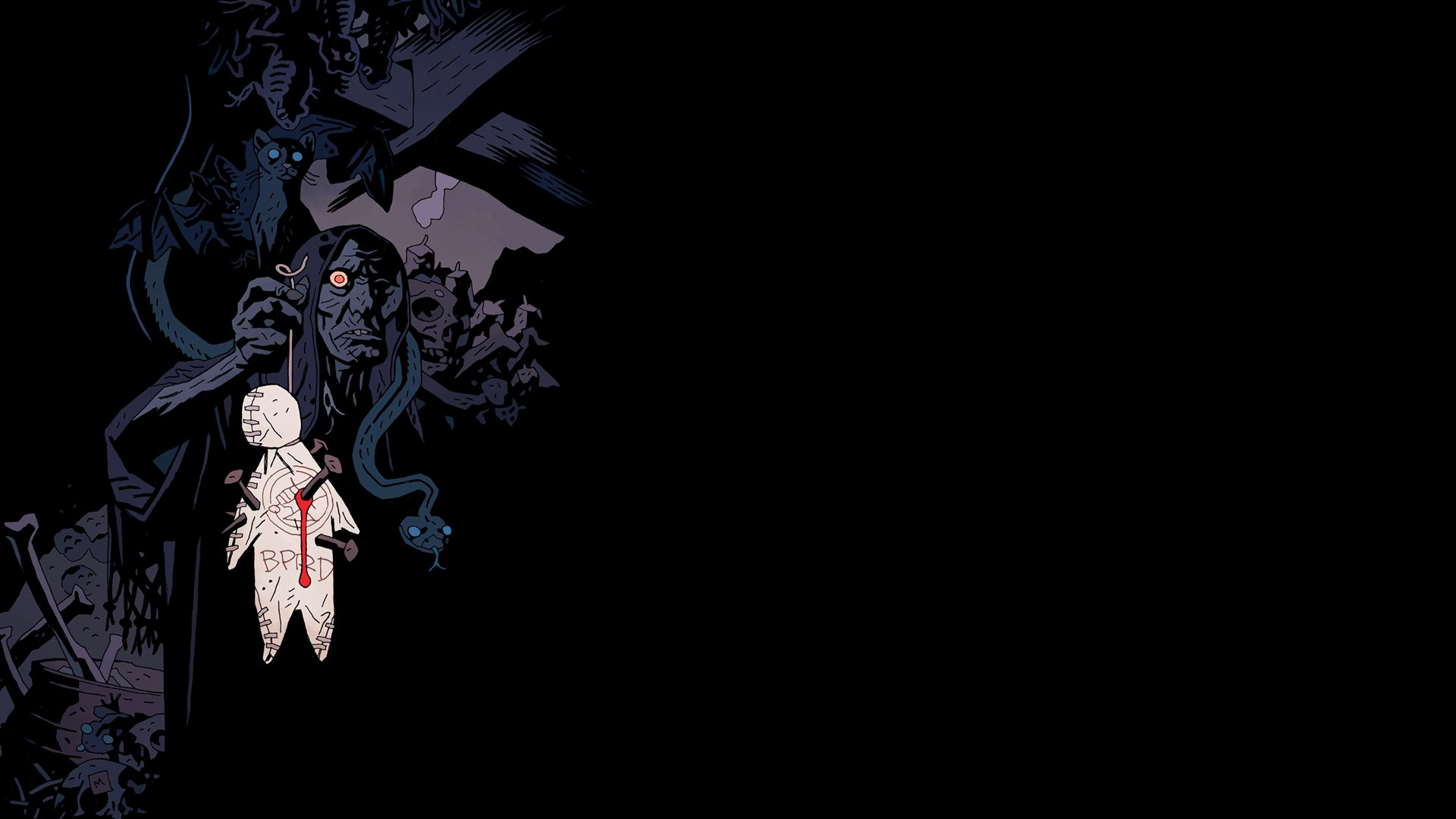 Friday The 13th Iphone Wallpaper Hellboy Full Hd Wallpaper And Background Image 1920x1080
