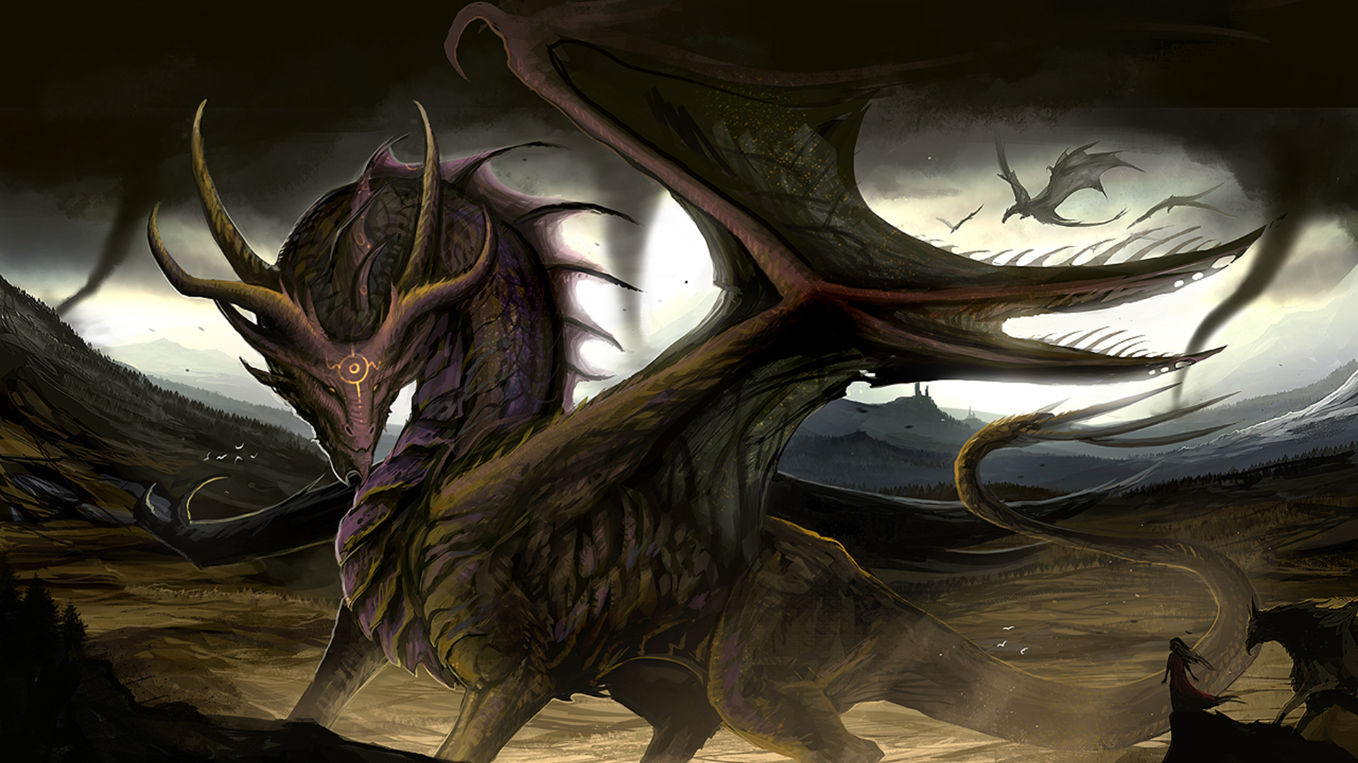 Pc Game 3d Wallpaper 1 Lord Of The Dragons Hd Wallpapers Background Images