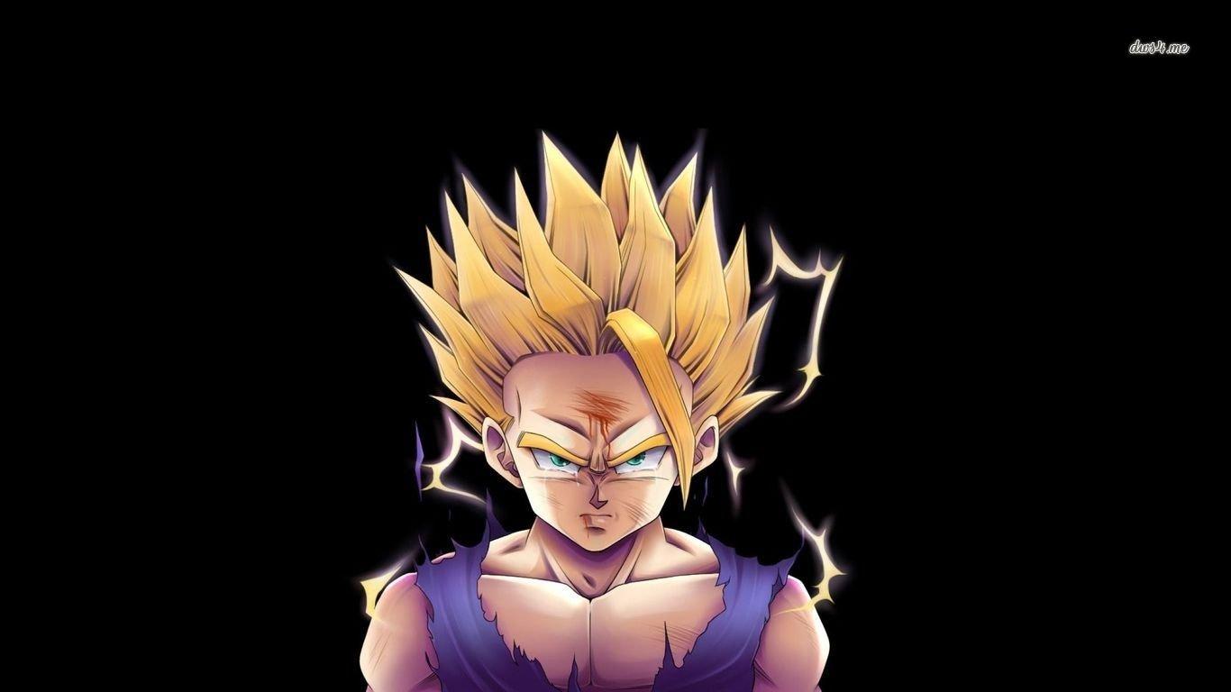 Goku Ssj Wallpaper Hd Dragonball Z Fond D 233 Cran And Arri 232 Re Plan 1366x768 Id