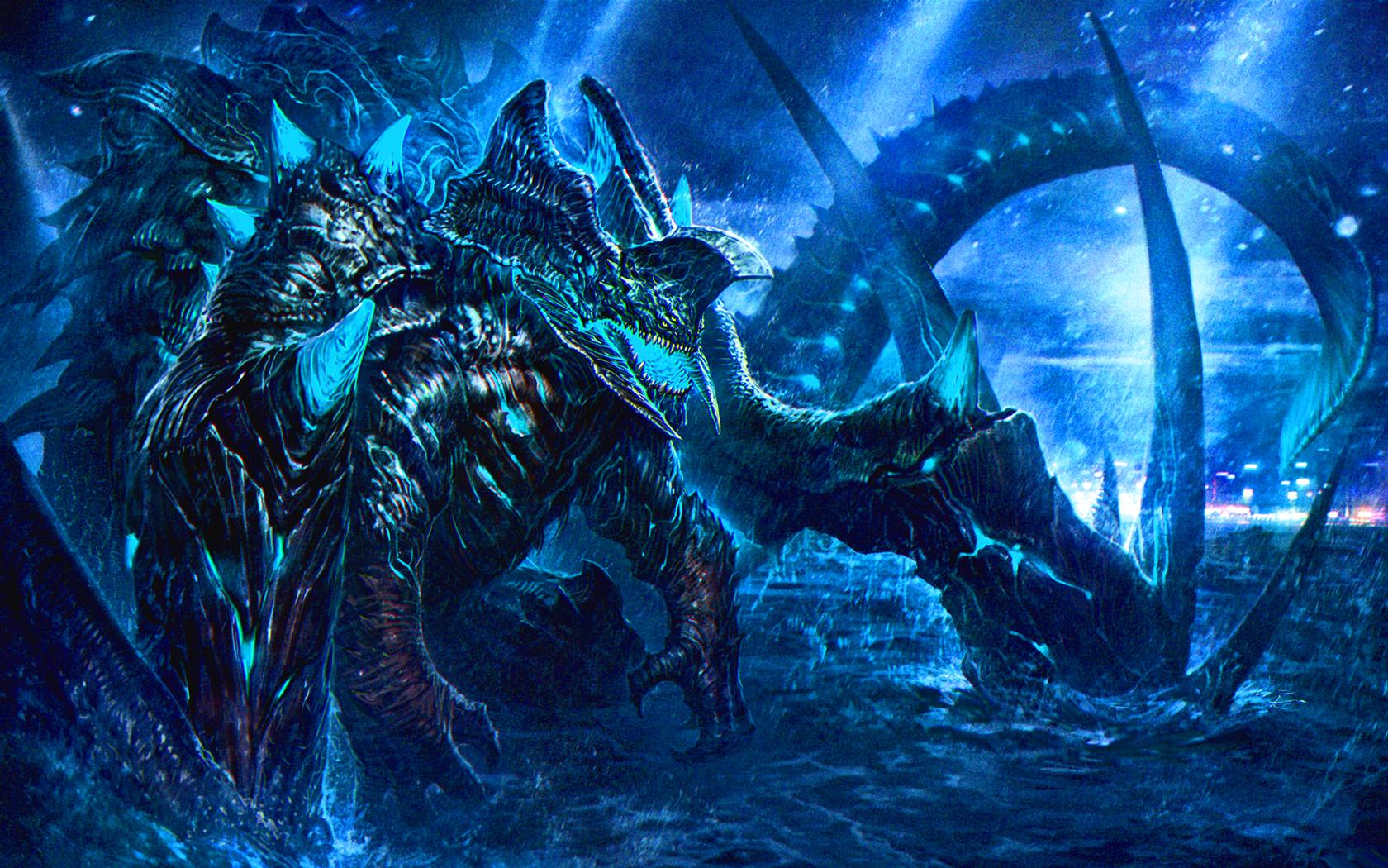 Neo Kaiju Wallpaper And Background Image  1680x1050 Id
