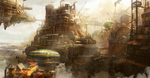 Steampunk Wallpaper And Background 2000x1042 Id