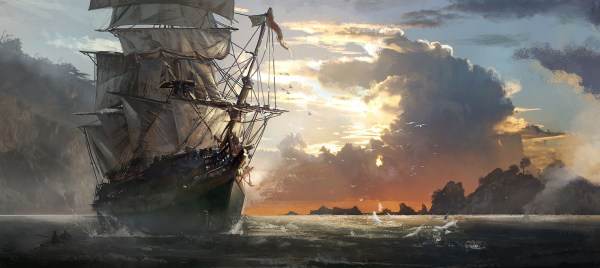 Assassin' Creed Iv Black Flag Hd Wallpaper Background