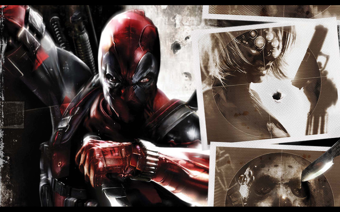 Badass Iphone Wallpaper Deadpool Wallpaper And Background Image 1440x900 Id