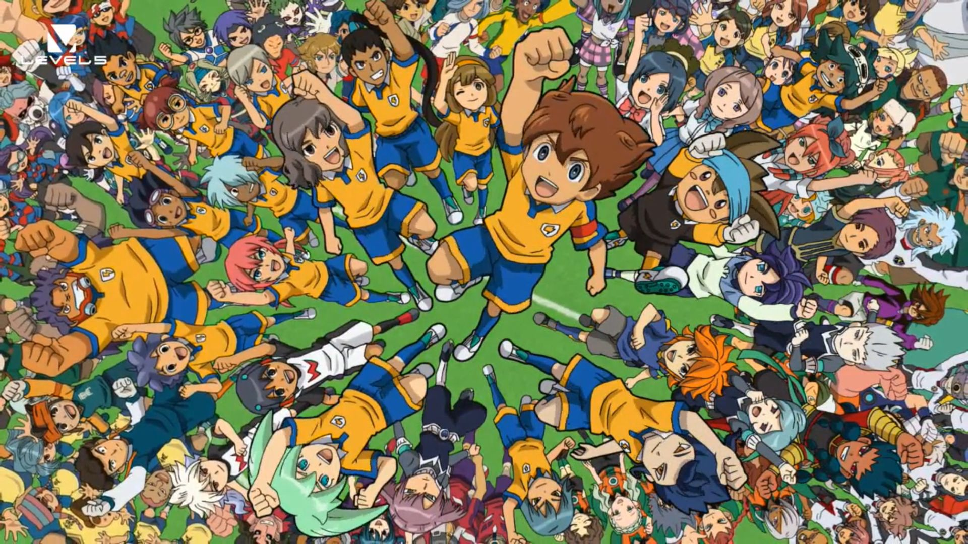 1 Inazuma Eleven Strikers Fonds Dcran HD Arrire Plans