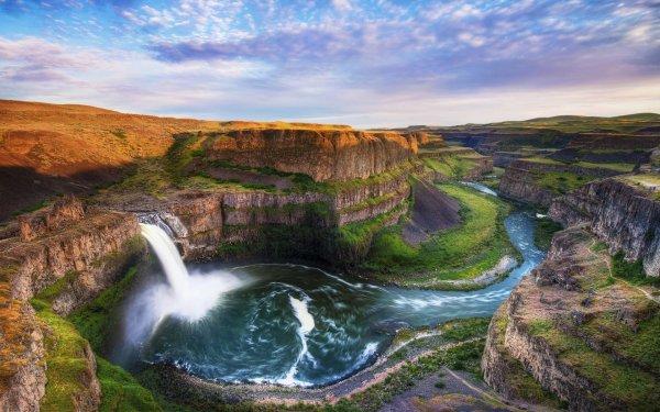 Palouse Falls Fond 'cran Hd Arri-plan 3000x1875 Id 599309 - Wallpaper Abyss