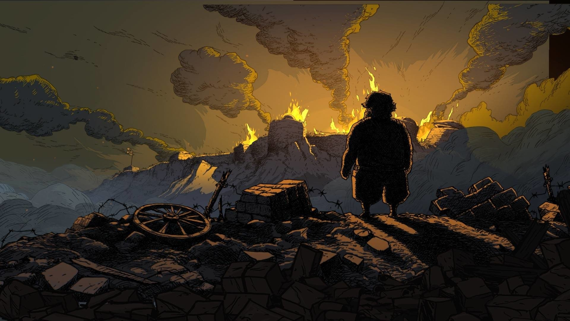 Valiant Hearts The Great War HD Wallpaper Background Image 1920x1080 ID612135