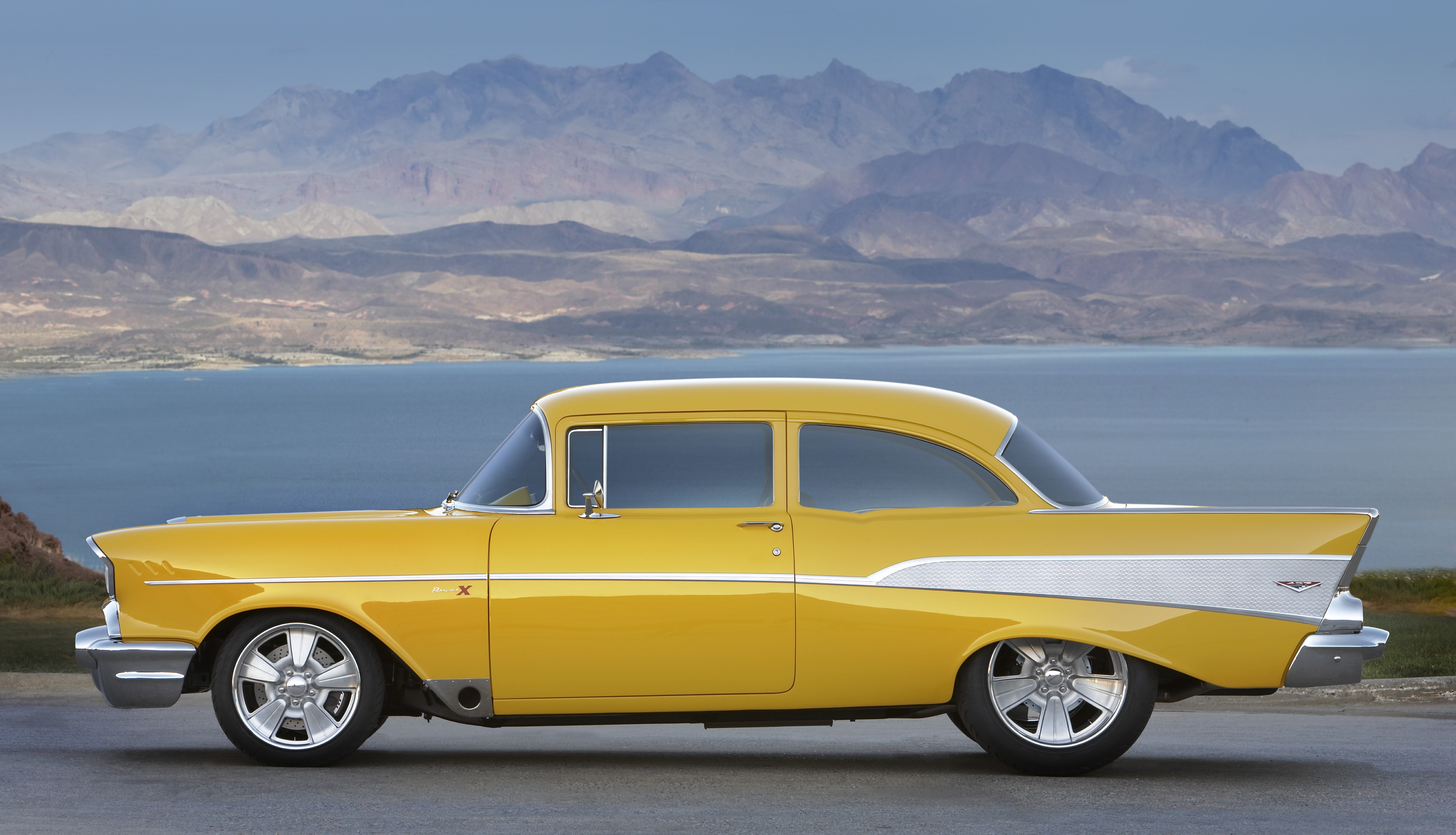 50s Car Wallpaper Iphone Yellow Chevy Bel Air Project X 4k Ultra Hd Wallpaper