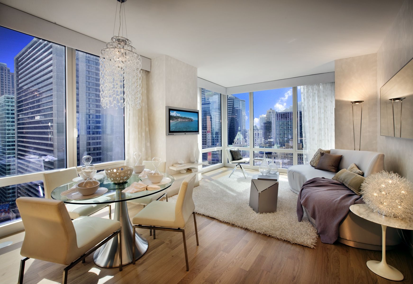 Modern New York City Apartment Wallpaper and Background