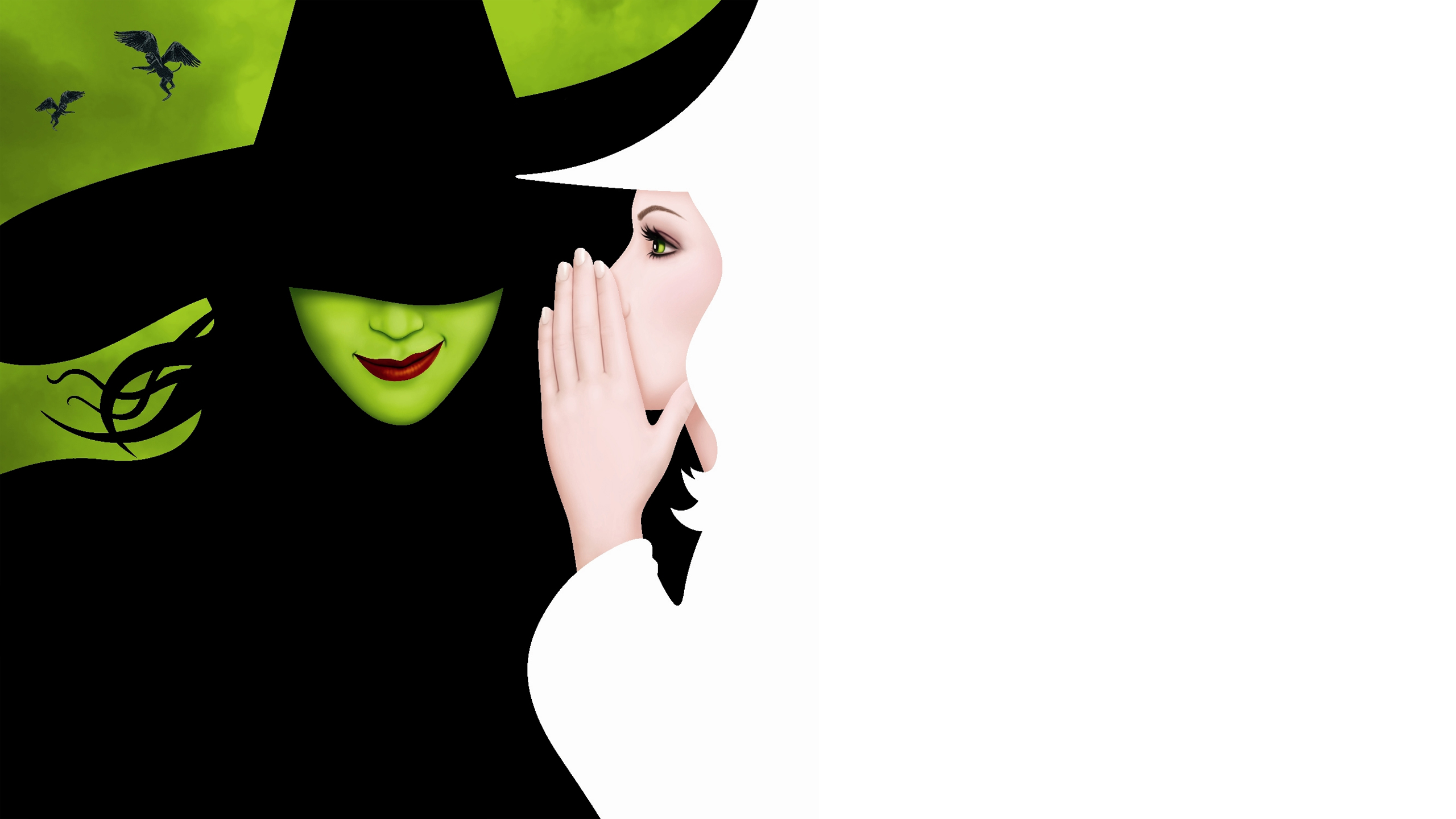 Wicked Iphone Wallpaper Wicked Is A Broadway Musical Full Hd Wallpaper And