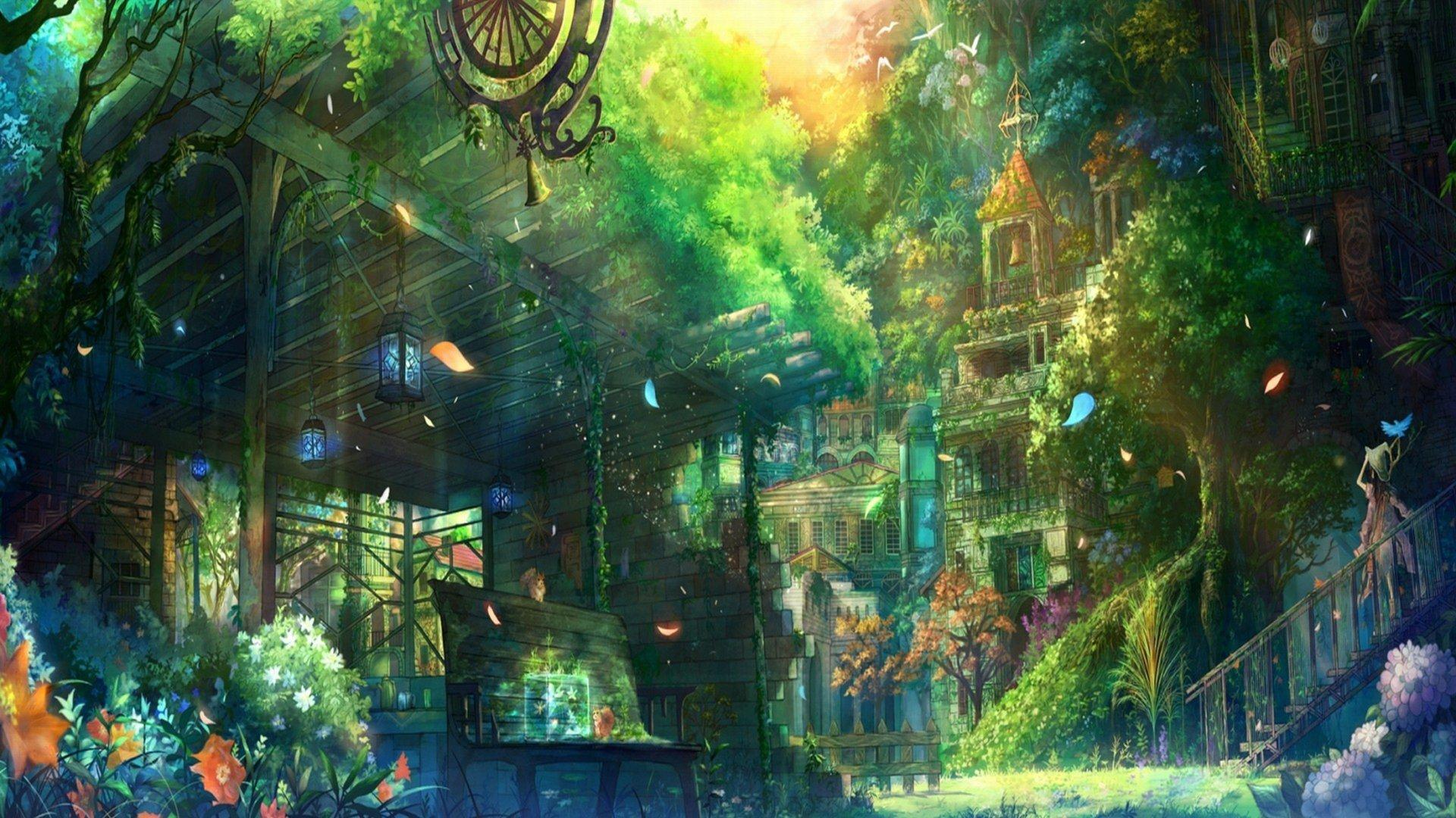 Ninja Fantasy Girl Wallpaper Beautiful Landscape Hd Wallpaper Background Image