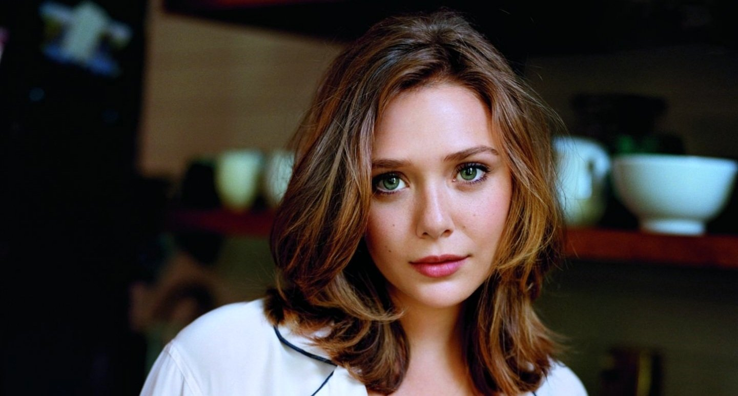 Goth Girl Wallpaper 1440x2960 Elizabeth Olsen Wallpaper And Background Image 1440x773