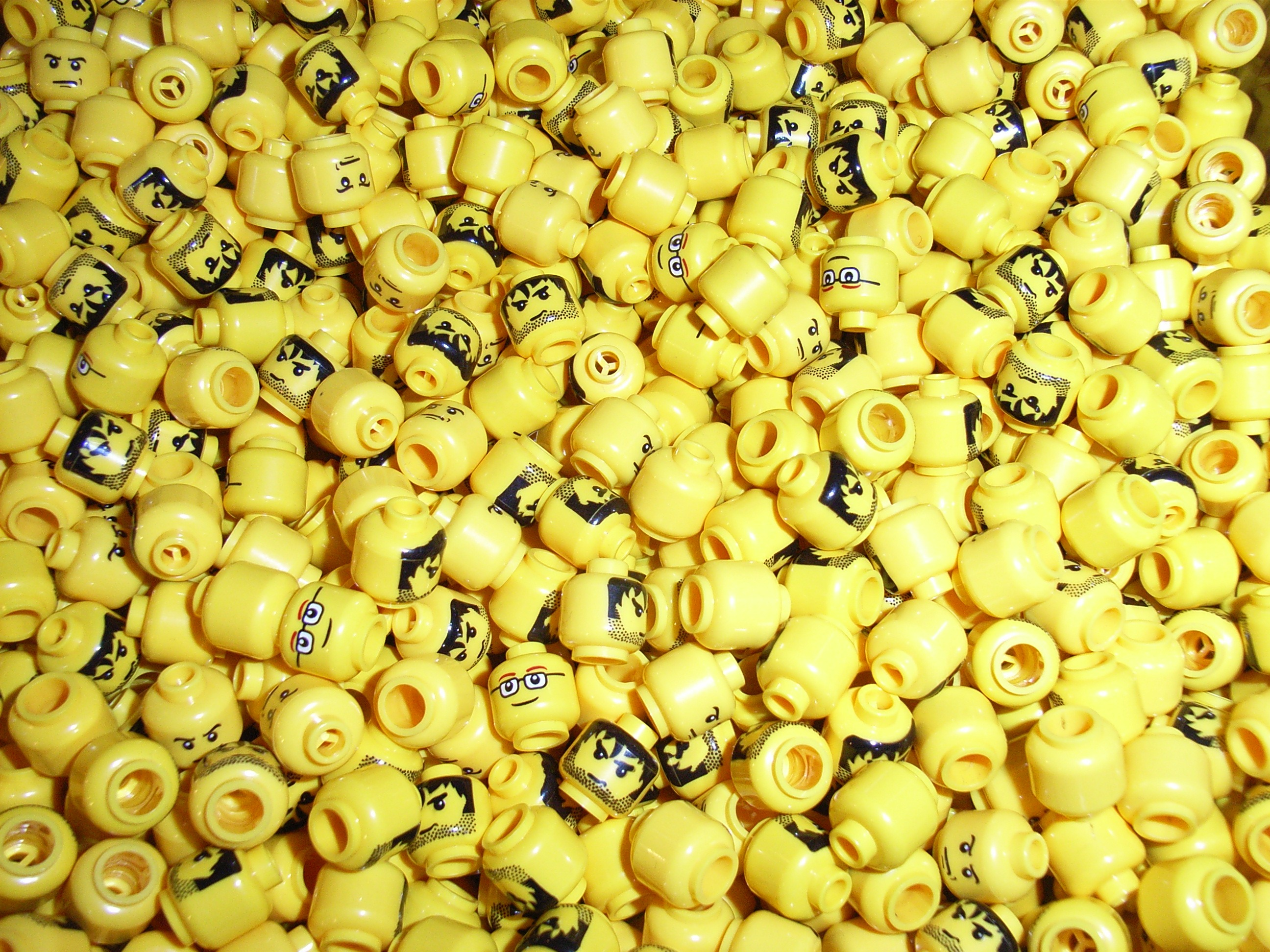Cute Wallpapers For Lg Phones Yellow Lego Heads Full Hd Wallpaper And Background Image