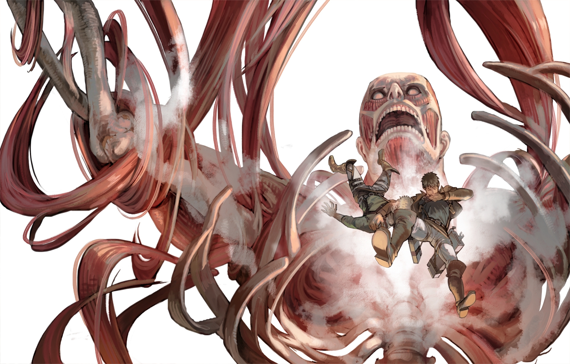 Here is new and awesome attack on. Attack On Titan HD Wallpaper | Background Image ...