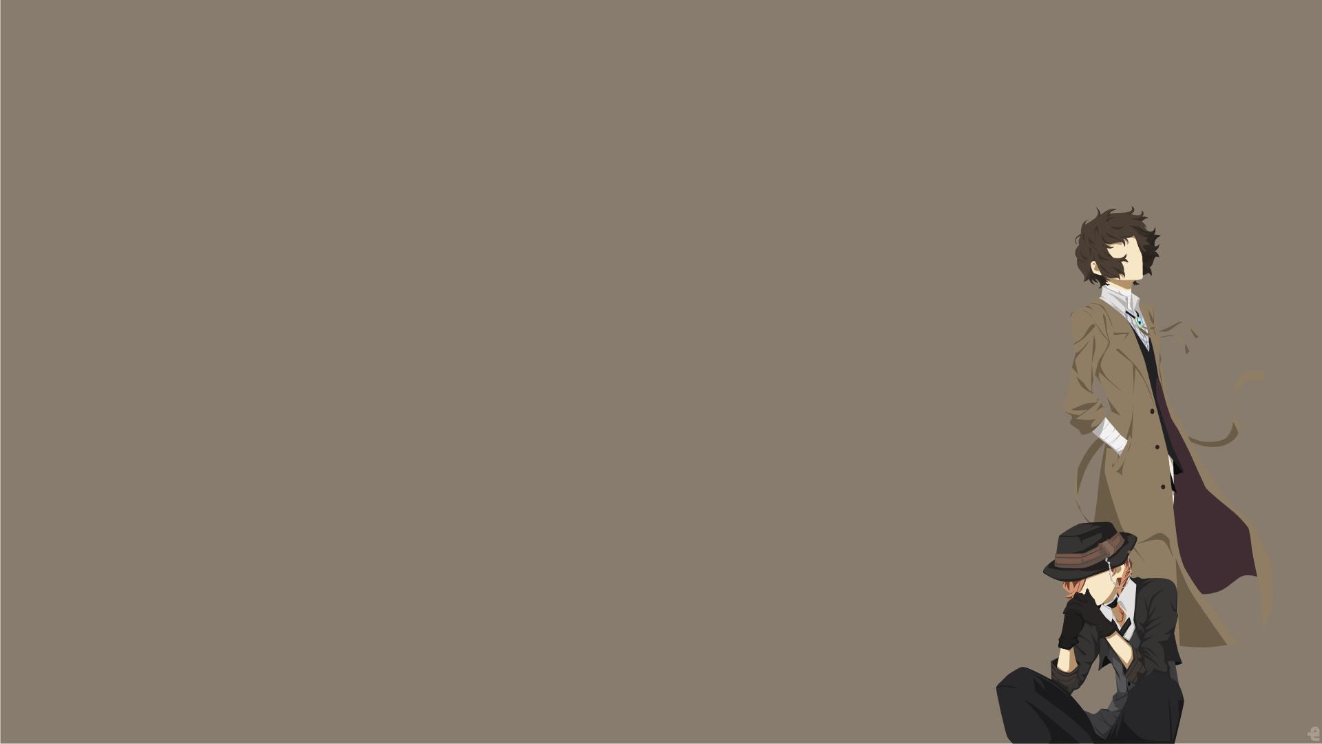 Minimalist Iphone X Wallpaper Hd Double Black Bungou Stray Dogs 高清壁纸 桌面背景 1920x1080