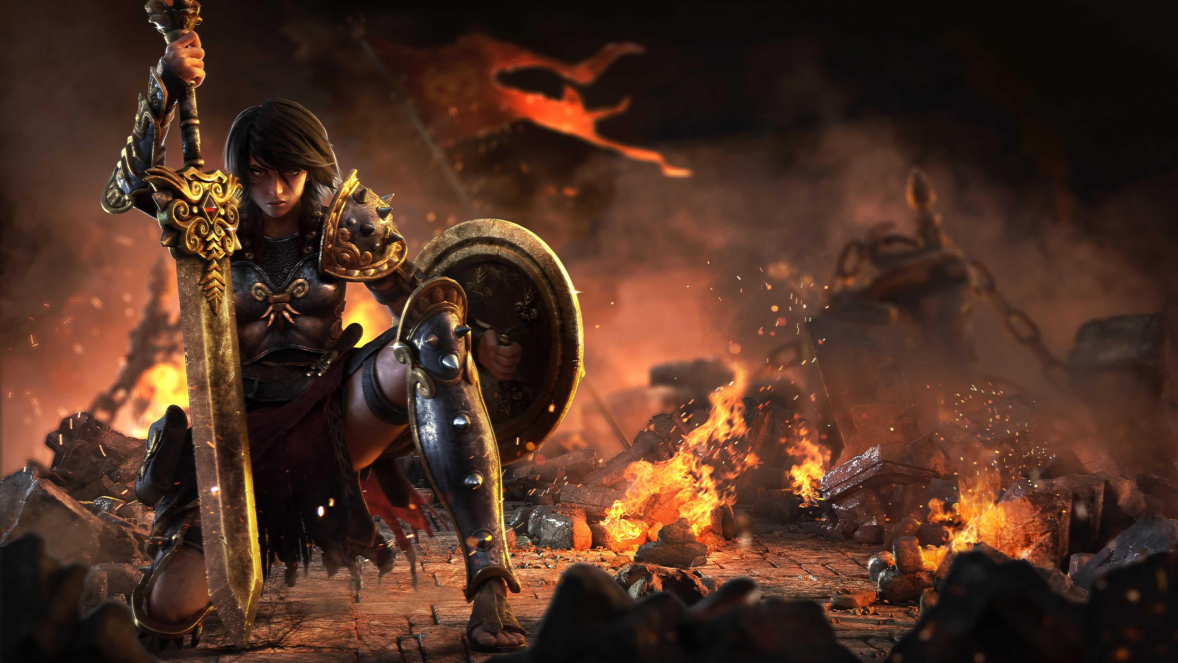 3 Bellona (smite) Hd Wallpapers  Background Images