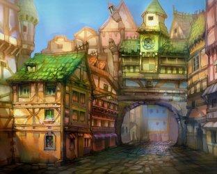 Fantasy Town Bakgrund and Bakgrund 1600x1280 ID:893246 Wallpaper Abyss