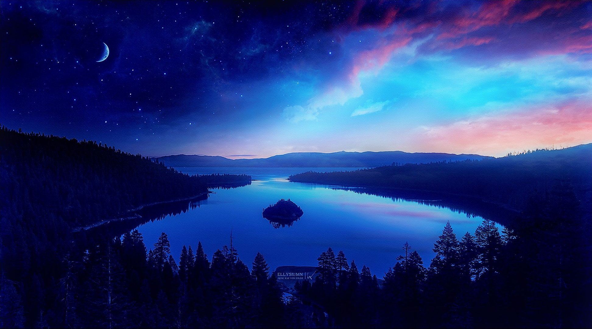 Between Day And Night Hd Wallpaper