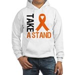 TakeAStand Kidney Cancer Hooded Sweatshirt