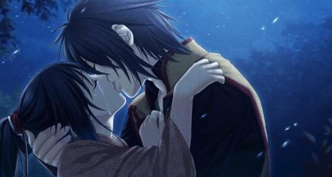 post a anime romantic kiss   Anime Answers   Fanpop