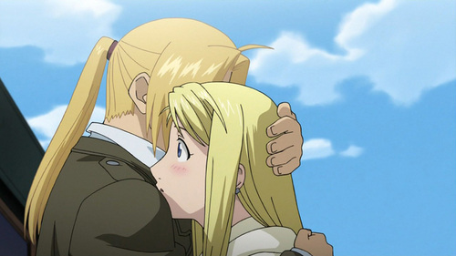 Fma Wallpaper Quotes What Is Your Favorite Quot Hug Scene Quot In An Anime Anime