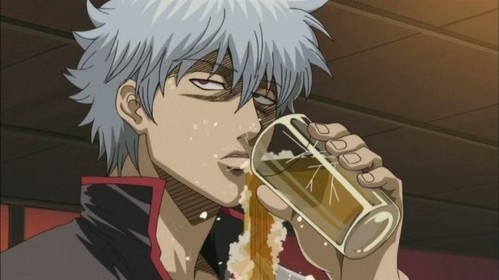 Image result for drinking contest anime